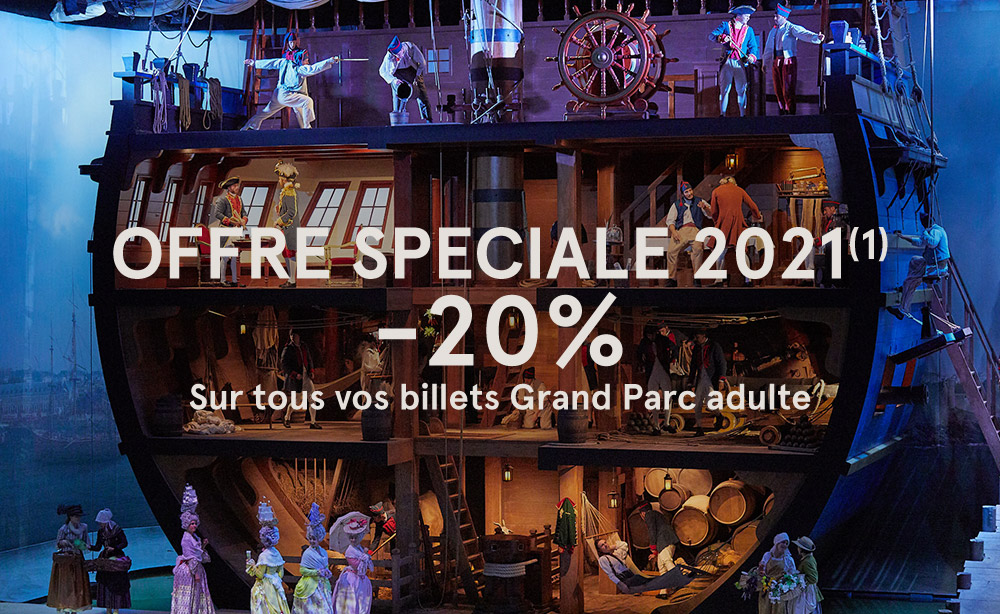 PASS EMOTION GRAND PARC 20€ de plus