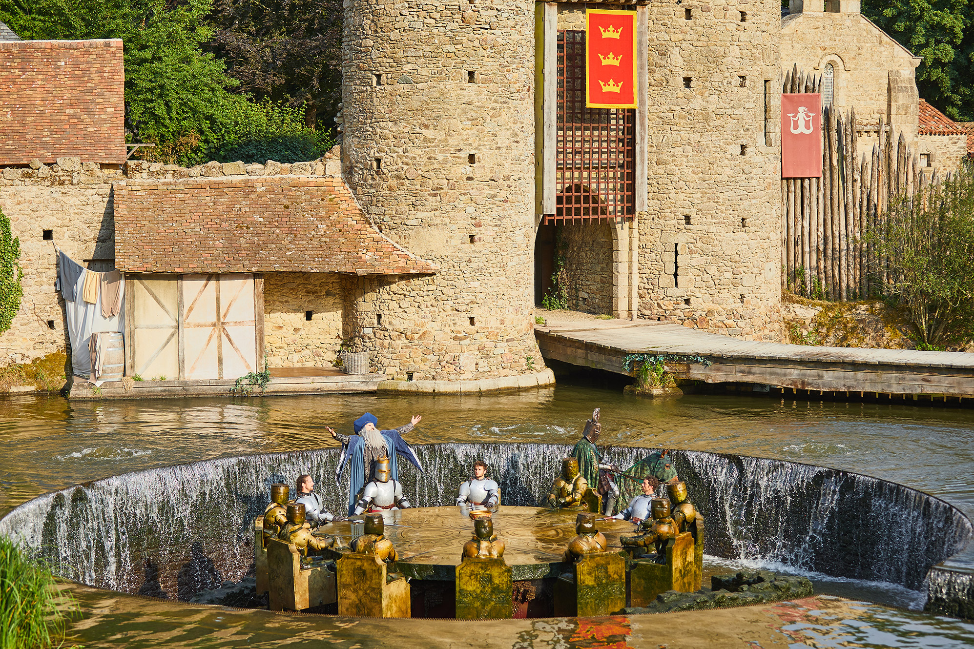 Les Chevaliers De La Table Ronde Spectacle Puy Du Fou